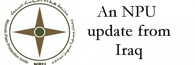 A Sit Down with the NPU in Iraq