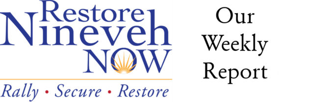 The Restore Nineveh Now Foundation's Weekly Report – December, 2016 – Issue 4